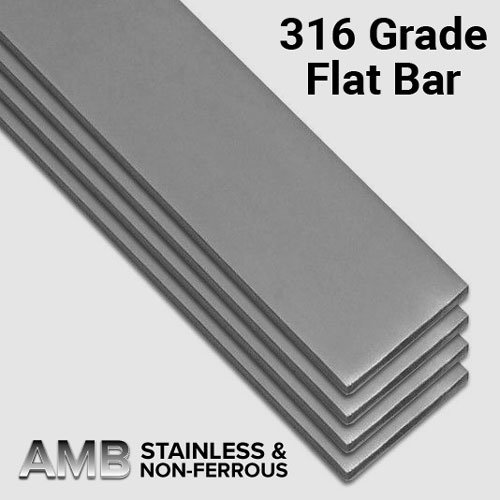 30 X 5 316 Flat Bar Stainless Steel Amb Steels