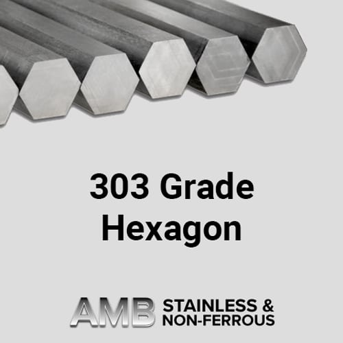 303 Grade Hexagon