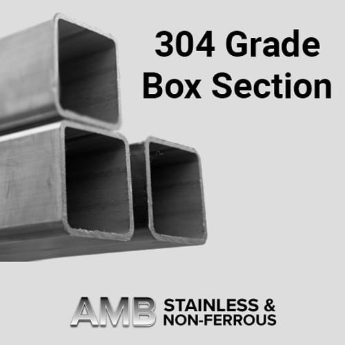 304 Grade Box Section