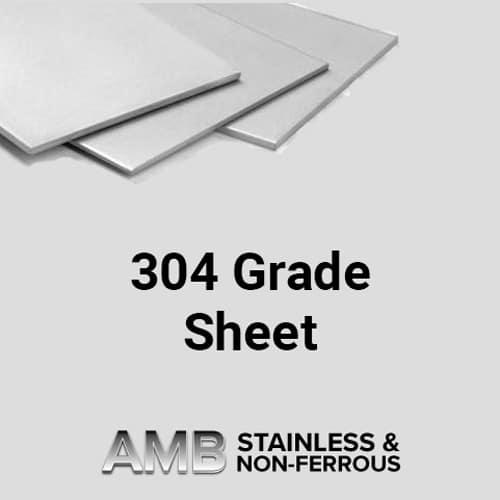 304 Grade Sheet