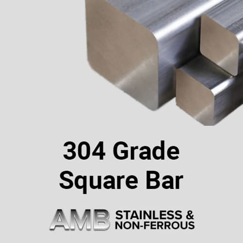 "Stainless Steel Sheffield | 4"" Square 304 Stainless Steel"