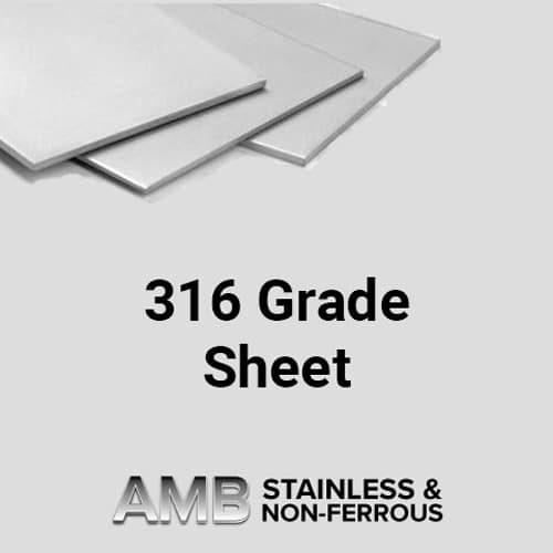 Stainless Steel Sheffield | 3.0 316 Sheet Stainless Steel