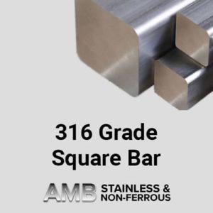 316 Grade Square Bar