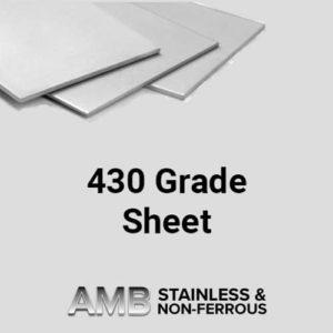 430 Grade Sheet